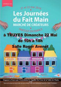 Affiche JDM 22 Mai à Truyes